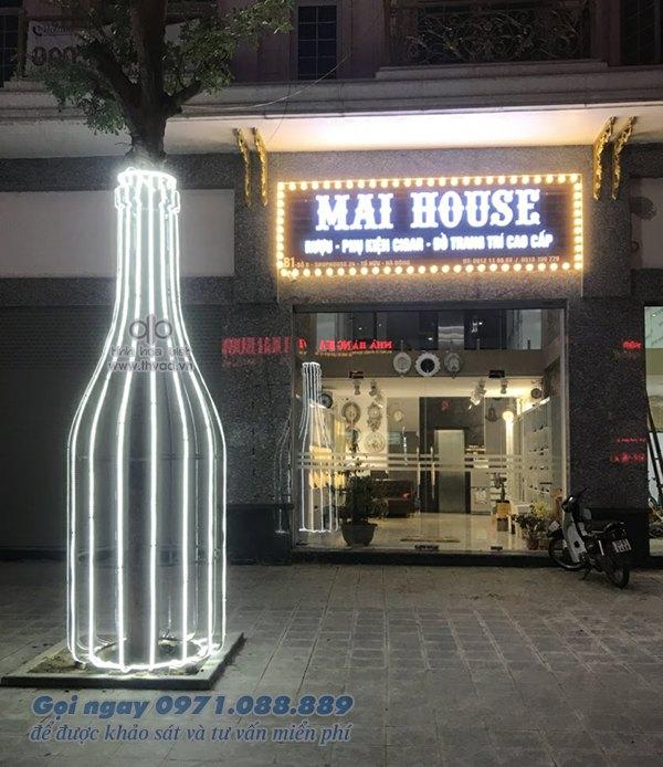 Biển quảng cáo độc lạ - Cửa hàng Rượi - Phụ kiện Cigar - Đồ trang trí Maihouse