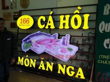 Biển Chữ Nổi Sáng Âm - 166 Trường Chinh