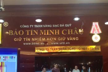 Biển Quảng Cáo Chữ Nổi Đồng - Công Ty Bảo tín Minh Châu