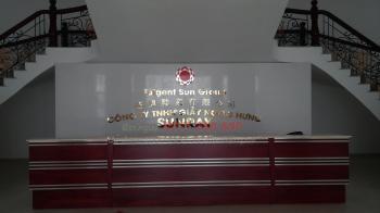 Bộ Công ty Bằng Chữ Inox - Cty SunRay Giầy Ngọc Hưng