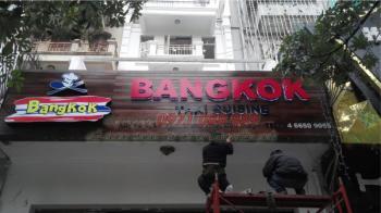 Làm Biển Quảng Cáo Mica Nhà Hàng Bangkok Thai Cuisine