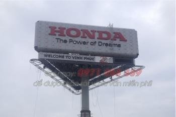 Biển quảng cáo - Công ty Honda Việt Nam