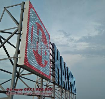 Biển quảng cáo trên nóc tòa nhà N05 - Hải Phát Hà Đông