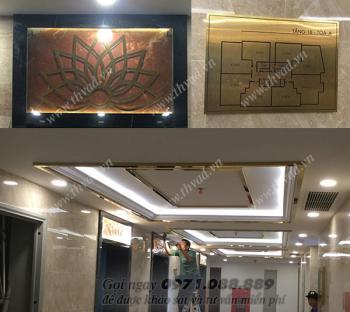 Biển quảng cáo tòa nhà Tân Hoàng Minh tại Hoàng Cầu